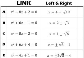 completing the square go teach maths