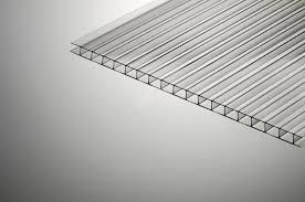 <b>Поликарбонат сотовый SKYGLASS</b> 6х2100х6000мм <b>прозрачный</b> ...