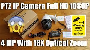 WGCC <b>PTZ</b> IP Camera H.264/<b>H</b>.<b>265</b> Onvif 4 MP Full 1080P 18X ...