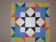 Check out http://laurelbarnquilts.com! Handcrafted Hand painted ... & Magical way to brighten up the porch for Spring. Chakra Quilt Barn Square.  Yankee Adamdwight.com