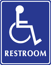 Handicap Bathroom Signs