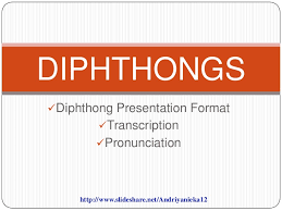 Phonetic alphabet lists with numbers and pronunciations for telephone and radio use. 5 Diphthongs