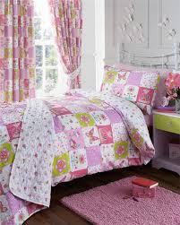 girls kids bedding pink duvet sets unicorns horses owls fairy quilt covers