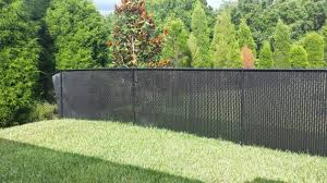 Picture of Chain Link Fence Covering Ideas Amazing Home Interior Design  Chain Link Fence Covering