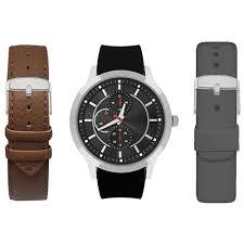 mens american exchange watch set amin5163s100 078 boscov s mens american exchange watch set amin5163s100 078