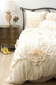 cream ruffle duvet cover queen sweetgalas