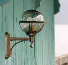 french outdoor lighting. outdoor wall globe light 220mm boreal 1 french lighting