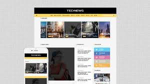 Free Technews Bootstrap Html5 Template Technews Html5load