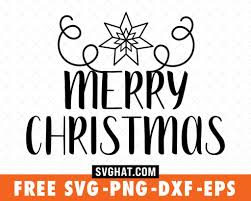 You can copy, modify, distribute and perform the work, even for commercial purposes, all. Merry Christmas Svg Files Free For Cricut And Silhouette Free Christmas Svg Cut Files Merry Christmas Svg Svg Christmas Tree Christmas Svg Cut File Svghat