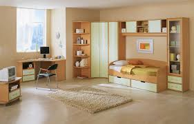 ... Gorgeous Decoration For Children Room Design Interior : Outstanding  Decoration Using Cream Furry Rug Also Brown ...
