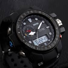 clock adjust picture more detailed picture about men sports men sports watches waterproof relogio masculino sport strap watches men analog digital led clock men wristwatches