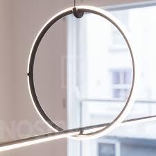 Round Makeup Light Flos Arrangements Round Small Line Pendant Light