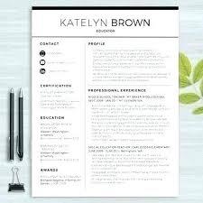 Free Modern Resume Template Word Modern Resume Template Word 2017 Professional Templates Contemporary