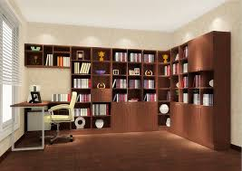 Inspiration About Home Design Bedroom 3d Study Room With Warm Nuance And  Wooden Inside Study Wall