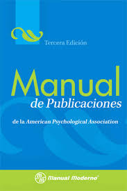 formato apa 2015 manual de publicaciones de la american psychological association 3a ed