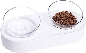 PETKIT Elevated Cat Food Bowls, Tilted Pet Raised ... - Amazon.com
