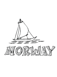 Nordland Boot Kleurplaat Gratis Kleurplaten Printen