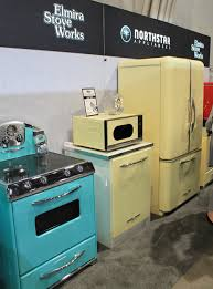 retro aqua yellow appliances