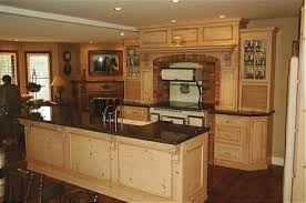 rustic kitchens designs. Simple Designs Rustic Kitchen Design With Unfinished Cabinet Doors In Kitchens Designs
