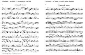 Viola Scales 4th Edition Changes