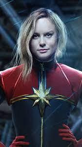 iPhone Wallpaper Captain Marvel