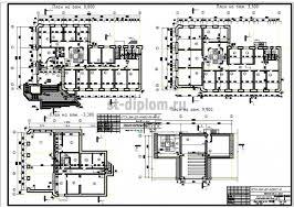 Управление объектом недвижимости на примере банковского офиса  3 Планы этажей