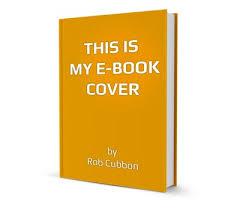 create a free 3d e book cover