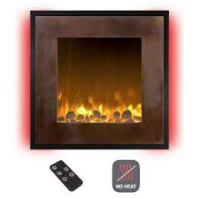 24 in wall mount no heat electric fireplace