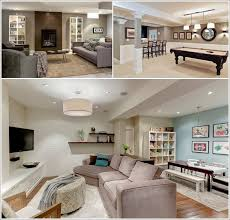 Basement Designs Ideas Enchanting 48 Interesting Ideas For Decorating A Basement 48 Living Room