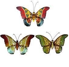 metal wall decor shop hobby: metal wall art butterflies makipera  metal wall art butterflies makipera