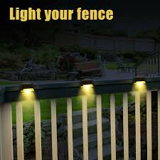 Solar Powered Outdoor Lights For Steps Us 29 84 31 Off 10pcs Solar Powered Led Deck Lights Outdoor Path Garden Stairs Step Fence Lamp Hvr88 In Solar Lamps From Lights Lighting On