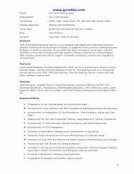 Qa Tester Resume Fresh Superb Etl Tester Resume Was Hilft Gegen