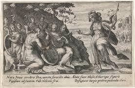 Minerva En De Muzen Metamorfosen Van Ovidius Passe Crispijn Van