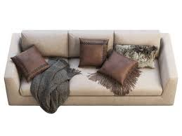 chalet leather three seat sofa leather