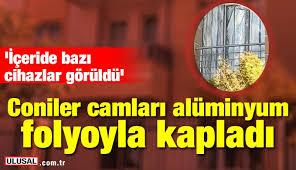 Malatya Da Coniler Camlari Aluminyum Folyoyla Kapladi Haberi Son Dakika Haberleri