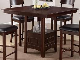 stylish poundex furniture 5 piece counter height dining table set with high high chair dining room set ideas