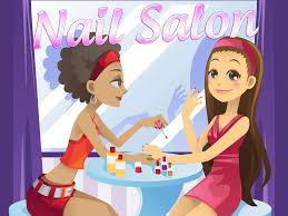 nail polish design salon pro fun virtual spa kids eng sub anjelah johnson nail salon animated cartoon you
