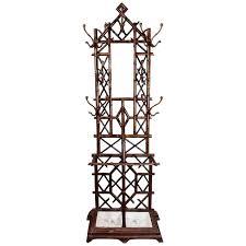 Cast Iron Tree Coat Rack Coat Rack Or Hall Tree 100th Century Regency Patinated Cast Iron 11