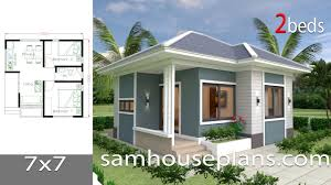 Beautiful 2 Bedroom House Designs House Plans 7x7 With 2 Bedrooms Full Plans