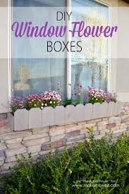 Diy Window Boxes Diy Window Flower Boxes Make It And Love It