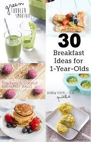 30 breakfast ideas for a 1 year old