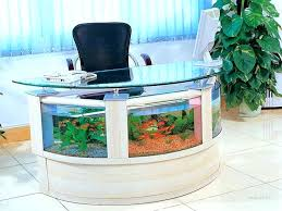 office desk fish tank. Aquarium Fish Tank Supplies Cheap Aquariums Desk Furniture Table Design Of A Half Circle Shape Corner Office