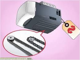 image titled install a garage door opener step 2