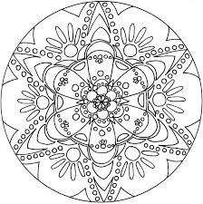 Small Picture Mandala Coloring Pages To Print Coloring Pages
