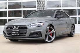 New 2019 Audi S5 Coupe Quantum Gray Car For Sale Waur4af51ka012754