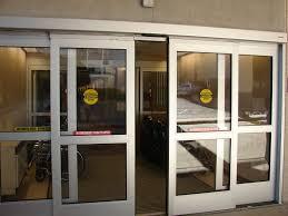 bulletproof glass hospital entrance
