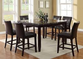 living in style harvard  piece counter height dining set