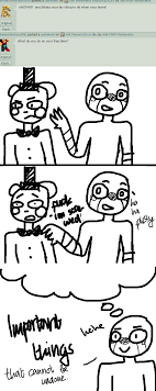 what do you do in your time by ask fnaf marionette on by ask what do you do in your time by ask