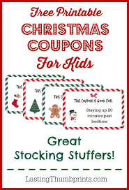 Printable Christmas Certificates 5 Christmas Printable Gift Certificates And Coupon Books Diy Gift