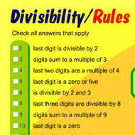 Divisibility Rules Tutorial   Sophia Learning